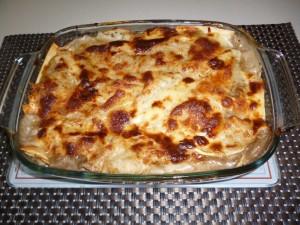 ready lasagna - Mushroom Lasagna