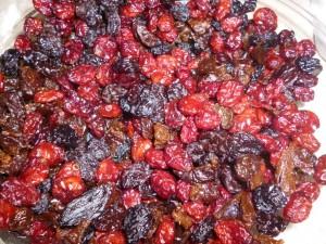 cranberries - Mince pies