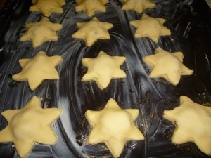 star shaped mince pies